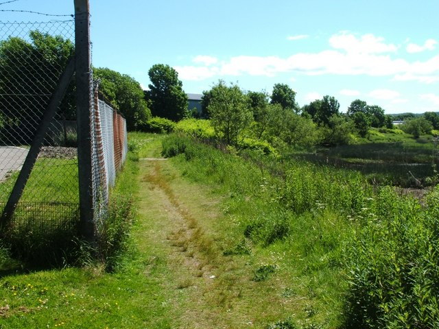 Footpath beside the River Leven