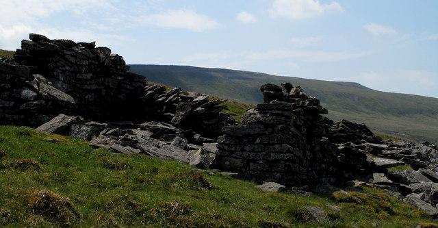 Ruin Beside The Pennine Way