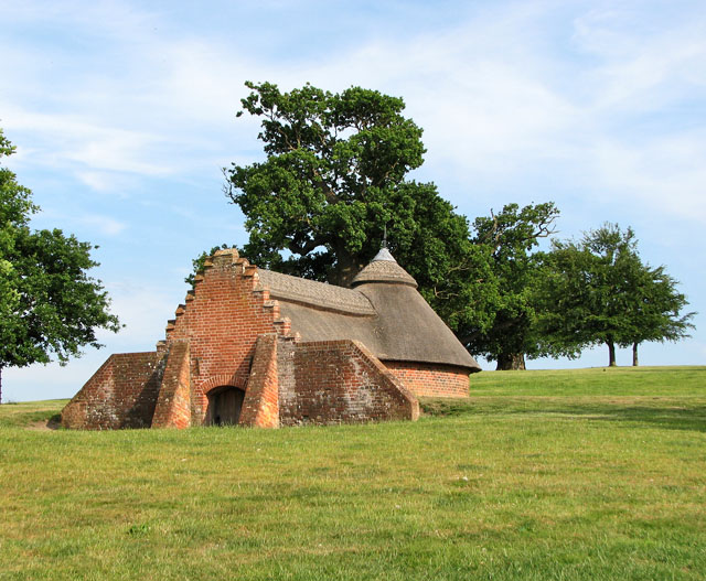 The ice house at Heveningham Hall