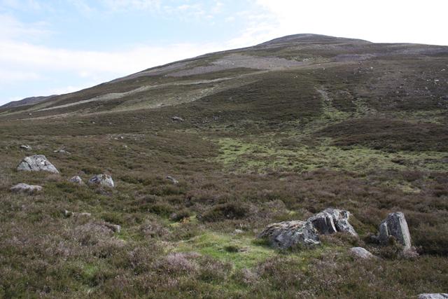 Moorland below Millstone Cairn