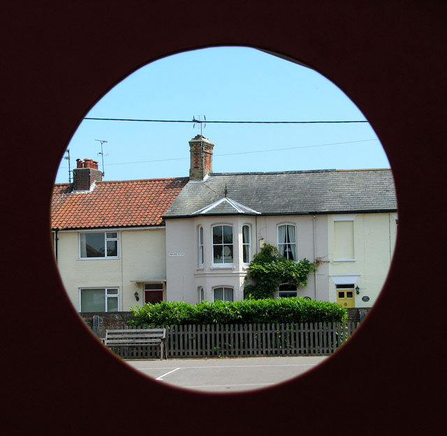 Cottages in Cumberland Road, Southwold
