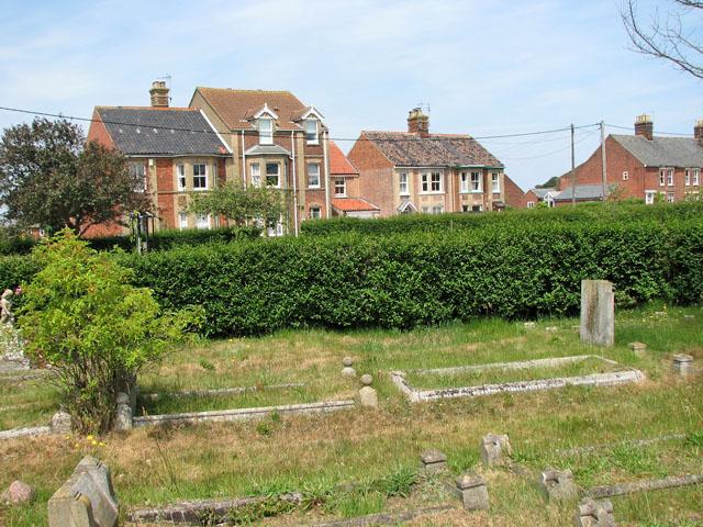 Houses in Field Stile Road, Southwold