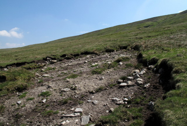 Bog Burst on North Slope of Cross Fell
