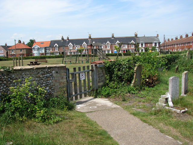 Terraced cottages in Field Stile Road, Southwold