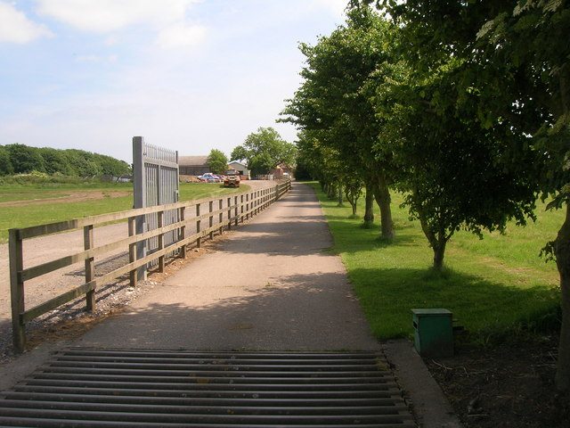 Track to Red Hall Farm