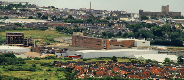 Former Courtaulds factory, Carrickfergus