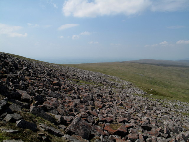 'The Screes' on The North Side of Cross Fell