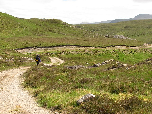 Road up Glen Roy