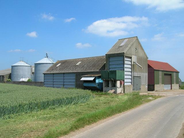 Farm Buildings, Little Newsome Farm