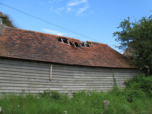 Roof repair required at Brockwells Farm