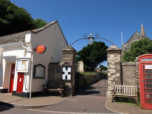 Church gate, Malborough
