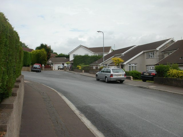 North east corner of Cotswold Way, Newport