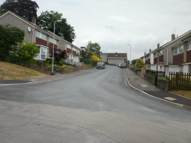 Southwest side of Cotswold Way, Newport