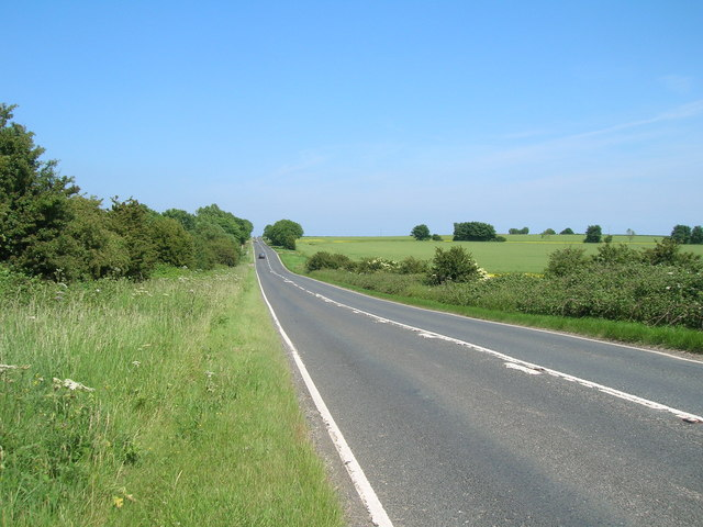 A1033 towards Withernsea
