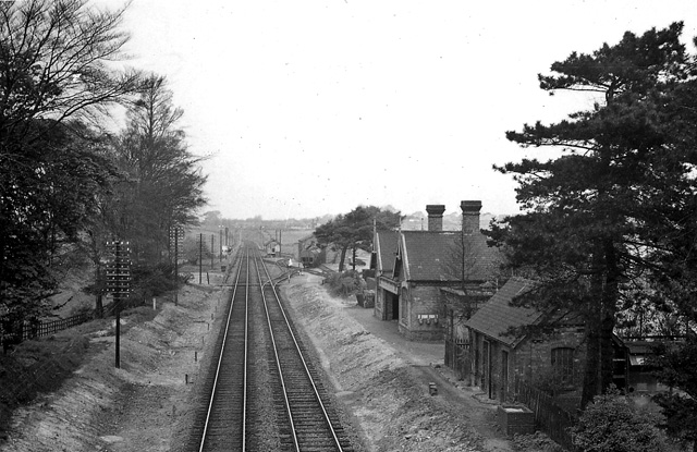 Branston & Heighington Station (remains)