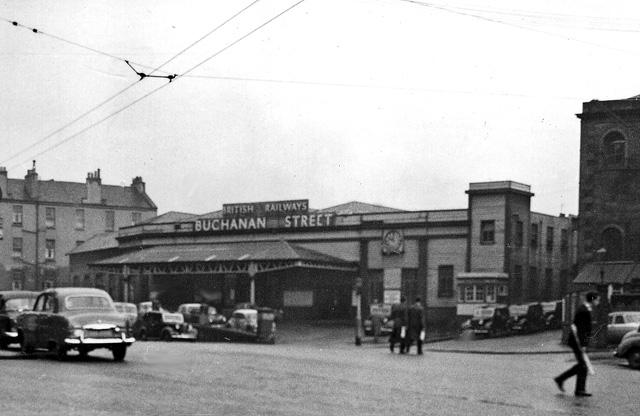 Glasgow Buchanan Street Station, entrance