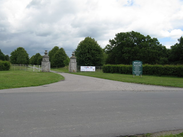 Entrance to Bentley Wildfowl and Motor Museum
