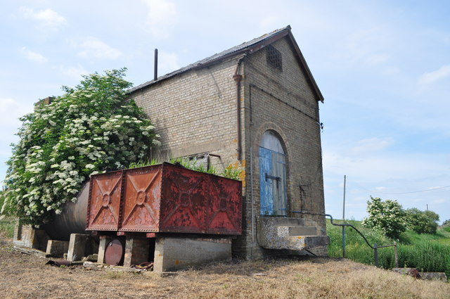 A view of an old pumping station