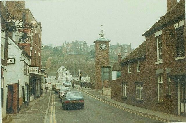 Underhill Street, Bridgnorth in 1984