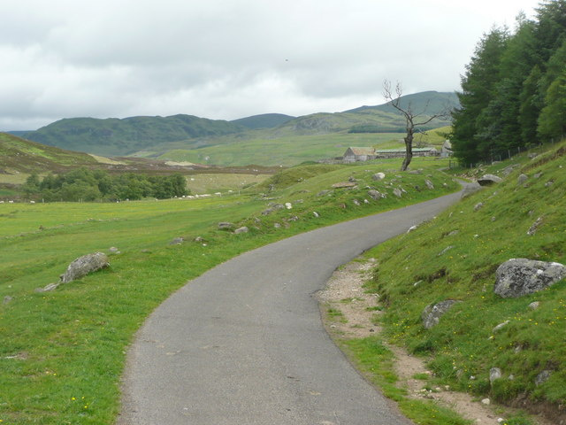Approaching the sheep pens