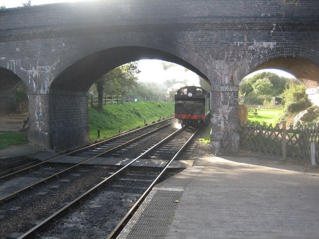 69621 arriving at Weybourne station
