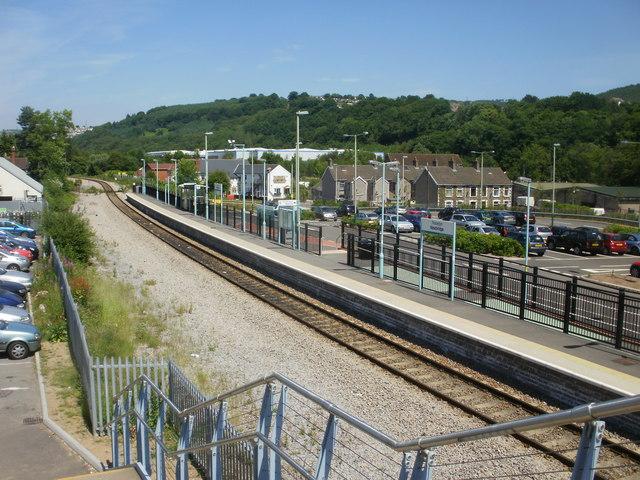 Newbridge railway station