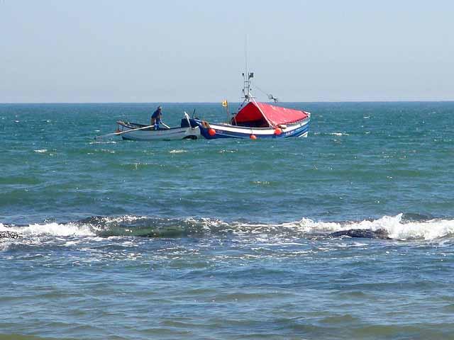 Boat in Embleton Bay