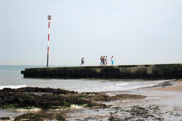 Walking on the Breakwater