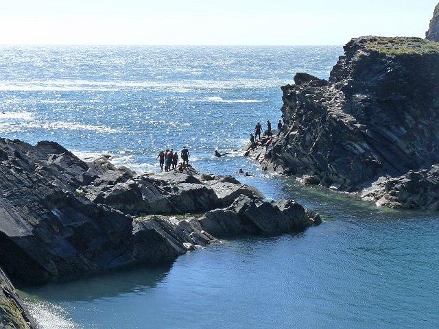 Coasteering at the Blue Lagoon