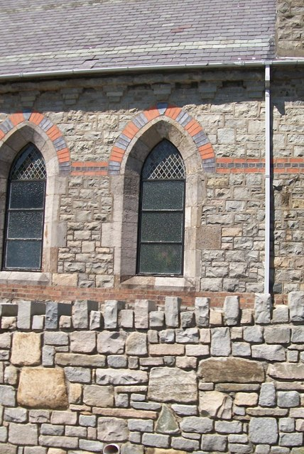 Windows at St George's Church, Trefor