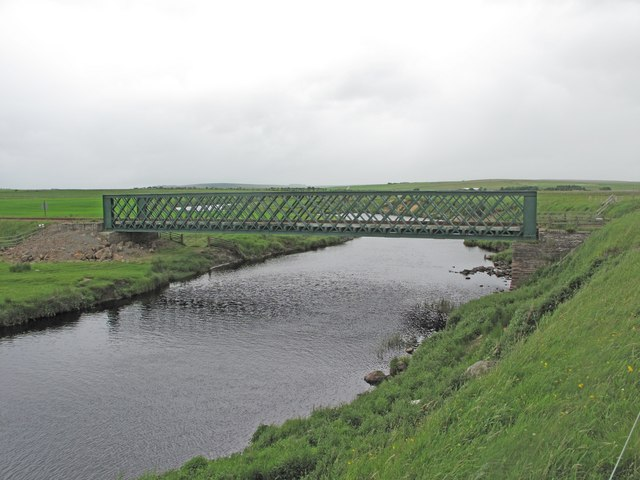 Railway Bridge near Halkirk