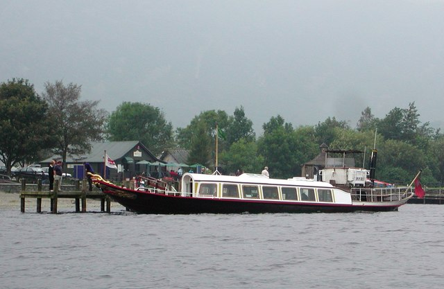 The Coniston Gondola at Jetty