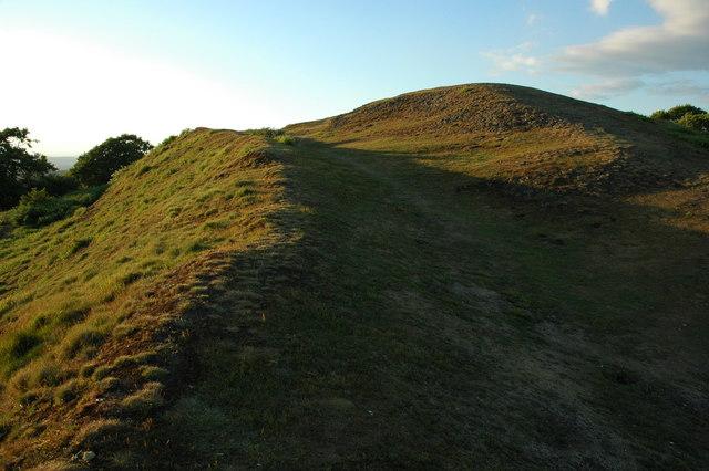Hill fort on Midsummer Hill