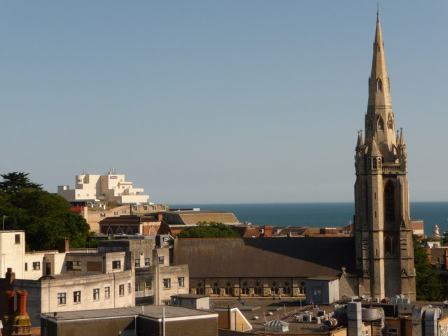 Bournemouth: St. Peter's and the Premier Inn