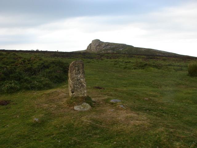 Standing stone, Saddle Tor