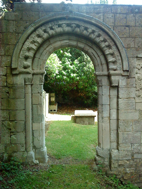 Elaborate archway