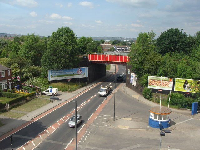 Railway bridge, Darnall, Sheffield