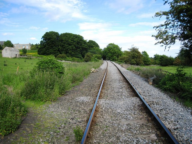 Footpath over railway track