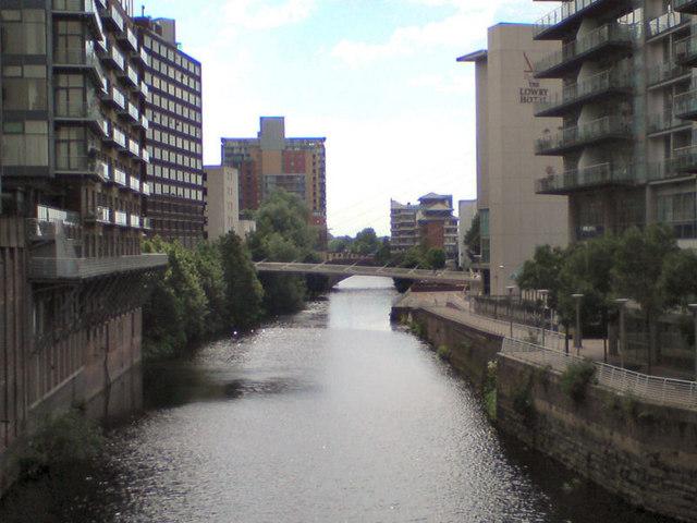 River Irwell From Blackfriars Bridge