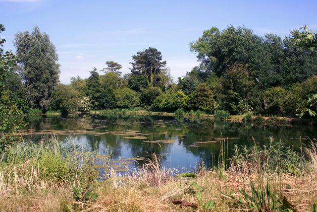 Lake by the Arle