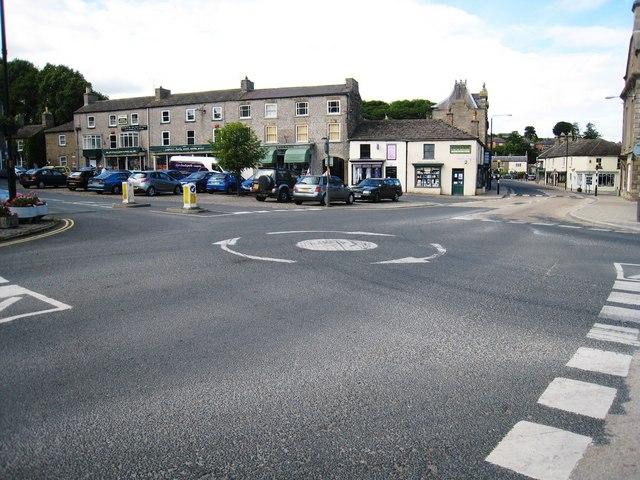 Roundabout in Leyburn