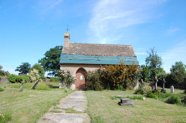 The cemetery chapel, Draycot Cerne