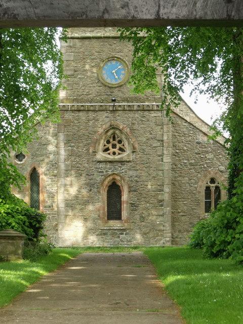 St. Beuno's, Berriew, Powys