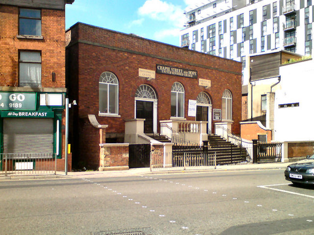 Chapel Street and Hope United Reformed Church