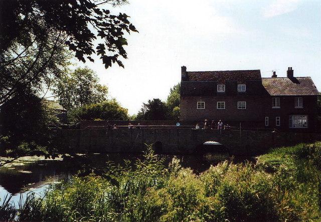 Bridge over the Cam at Grantchester, Cambridgeshire