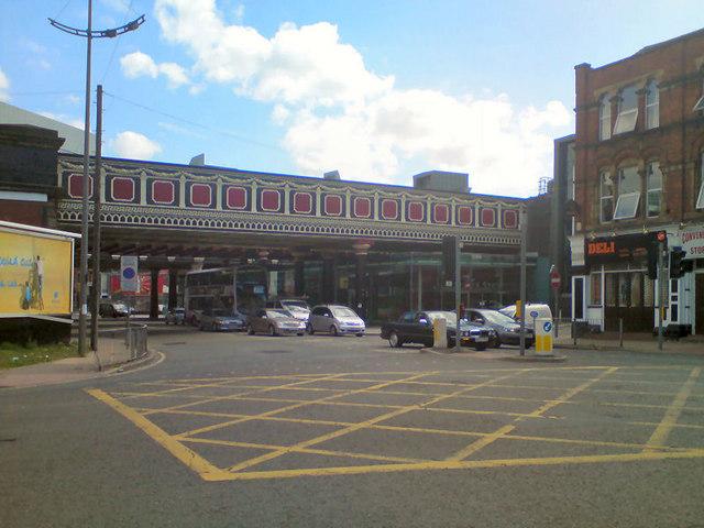 Bridge at Salford Central Station