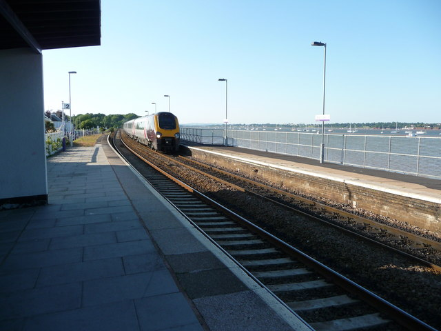 Starcross : Starcross Railway Station, Platform Two