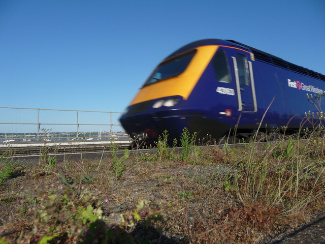 Starcross : First Great Western Train