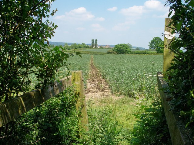 Footpath to Bould [4]