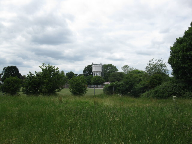 Water tower on the edge of Earley